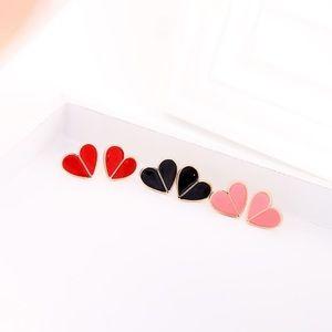 Cute Heart Stud Earrings